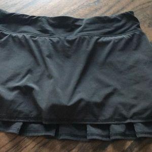 Lululemon ruffled tennis skirt